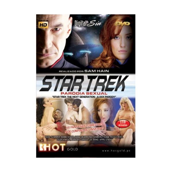 HotGold Blu-ray Star Trek - Paródia Sexual