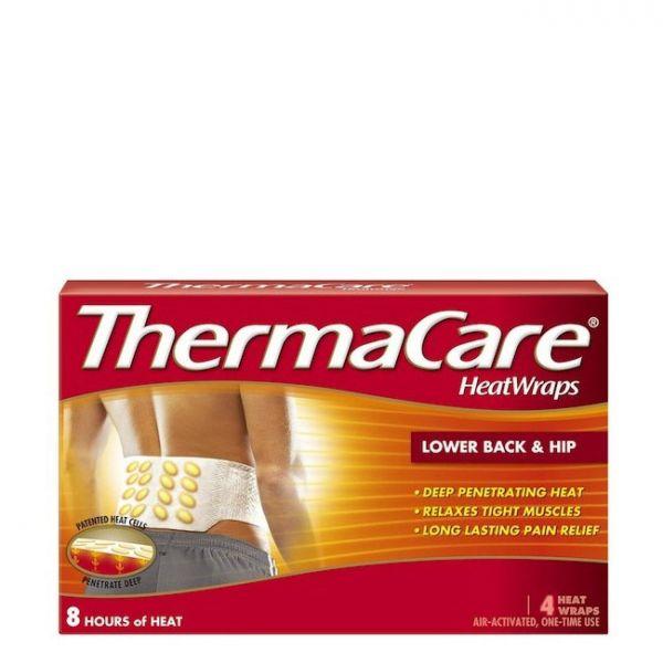 Thermacare Faixas Térmicas para Dores Lombar e Anca 4 unidades