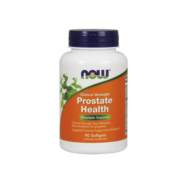 Now Clinical Strenght Prostate Health 90 Cápsulas