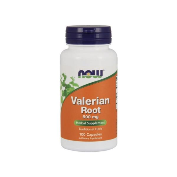 Now Valerian Root 500mg 100 cápsulas