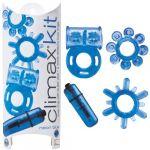 Topco Kit Prazer Climax Neon Blue