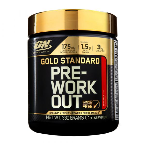 Optimum Gold Standard Pre-Workout 330g
