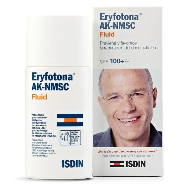 Protetor Solar ISDIN Fluido Eryfotona AK-NMSC SPF100+ 50ml