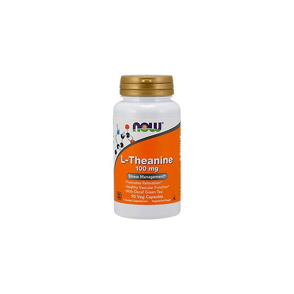 Now Foods L-Theanine 100mg 90 cápsulas