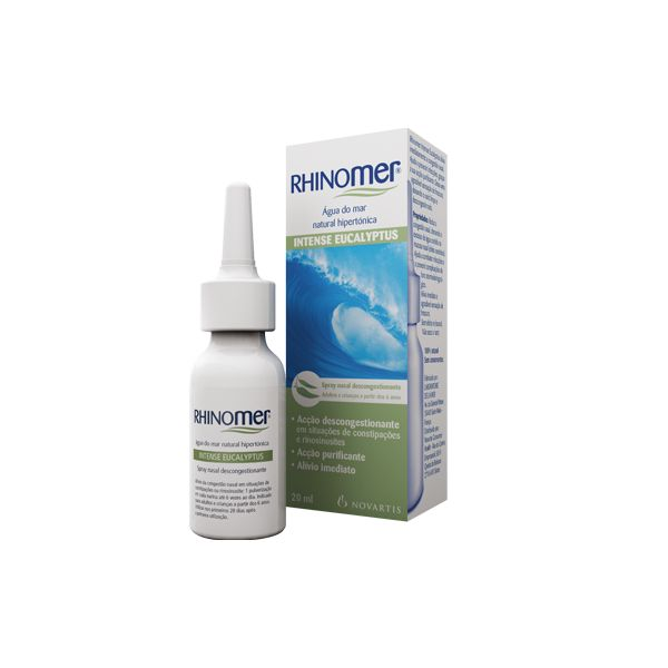 Novartis Rhinomer Intense Spray Nasal Eucaliptos 20ml