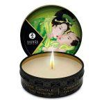 Shunga Vela Massagem Afrodisíaca Chá Verde 30ml