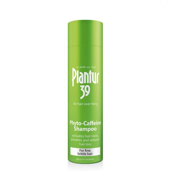 Plantur 39 Shampoo Cafeína Cabelos Finos Pintados 250ml