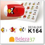 Decalques Dos Angry Birds Rio (K164)