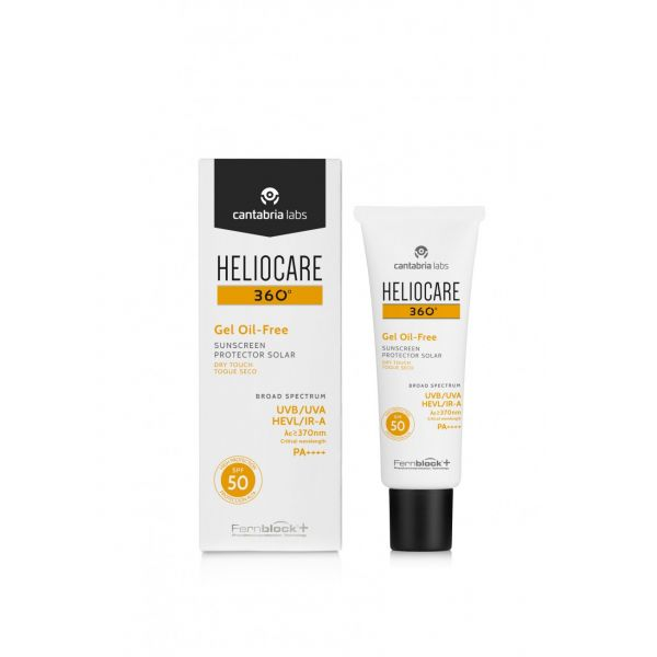 Protetor Solar Heliocare 360º Oil Free Gel SPF50+ 50ml