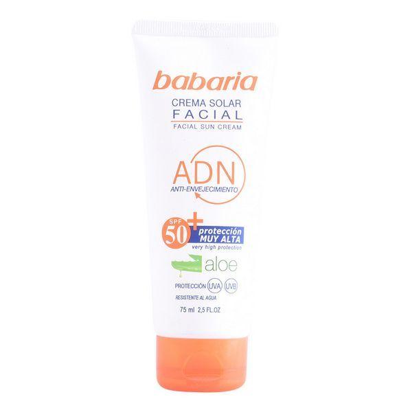 Protetor Solar Babaria Creme Facial SPF50+ 75ml