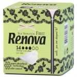 Renova Silk Sensation First Normal Com Abas 14 unidades