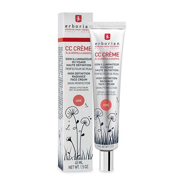 CC Cream Erborian Iluminador SPF25 Tom Doré 45ml