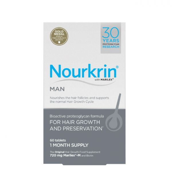Nourkrin Homem 60 comprimidos