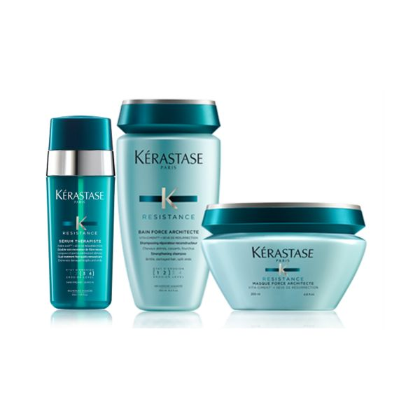 kerastase resistance k th rapiste pack bain 250ml masque 200ml s rum 30ml comparador de pre os. Black Bedroom Furniture Sets. Home Design Ideas