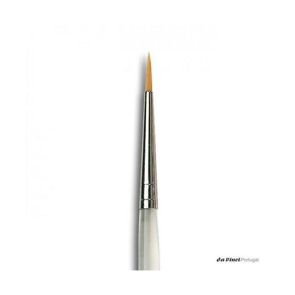 DaVinci Pincel 15700 Nº0 Gel/F&B Redondo