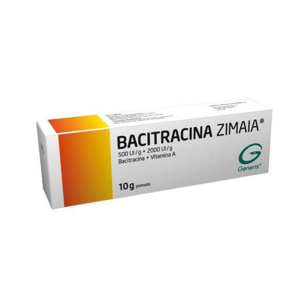 Bacitracina Zimaia 500/2000 UI/g Pomada 10g