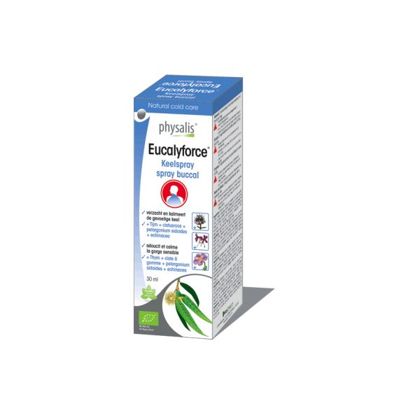 Physalis Eucalyforce Spray Bucal 30ml