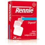 Rennie Digestif 680mg + 80mg 24 comprimidos mastigáveis