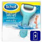 Dr Scholl Velvet Lima Eletrónica calosidades Wet & Dry