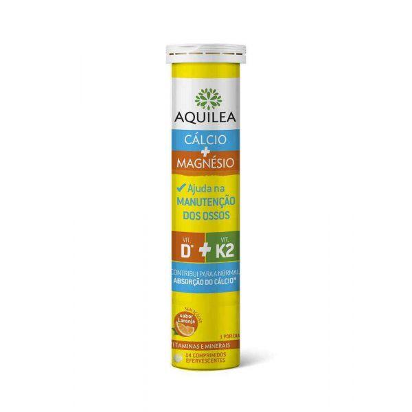 Aquilea Magnésio Sabor Limão 14 Comprimidos Efervescentes