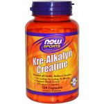 Now Kre-Alkalyn Creatine 120 cápsulas
