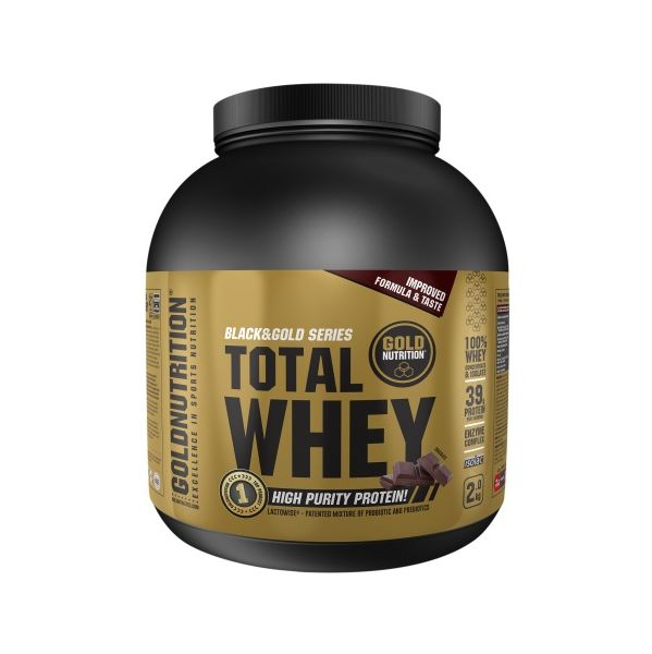 Gold Nutrition Total Whey 2Kg Chocolate