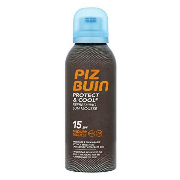 Protetor Solar Piz Buin Protect & Cool Spray Mousse SPF15 150ml