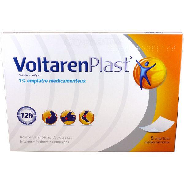 Voltaren Plast Emplastro Medicamentoso Dores Musculares 5 Unidades