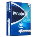 Panadol 500mg 20 Comprimidos Revestidos