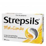 Strepsils Mel e Limão 0,6/1,2mg 36 pastilhas