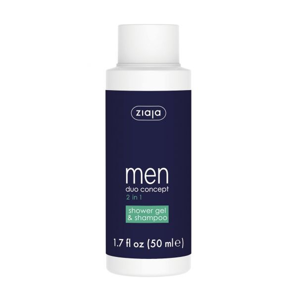 Ziaja Men Duo Concept 2 In 1 Shower Gel & Shampoo 50ml