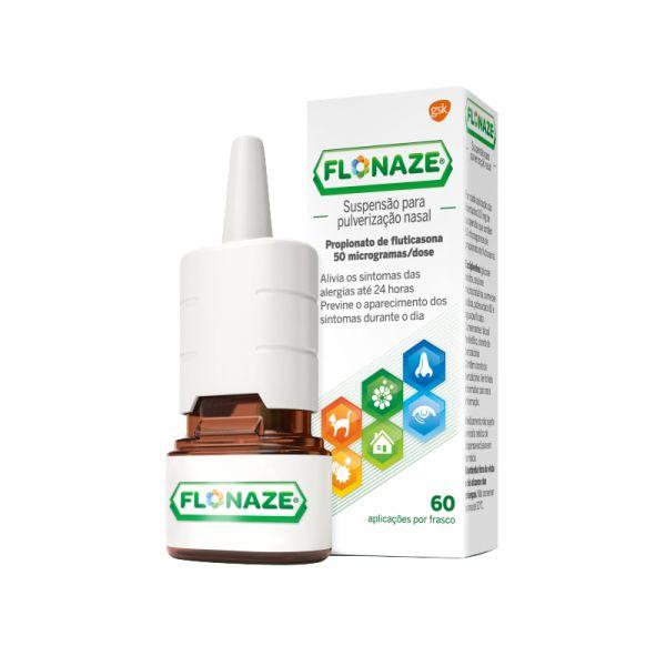Flonaze Suspensão Pulverização Nasal 60 Doses