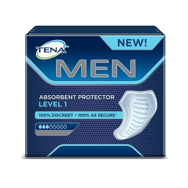 Tena Men Level 1 Penso Absorvente Protetor 24 Unidades