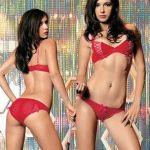 Conjunto Sexy Leg Avenue Vermelha - 068-359:0441