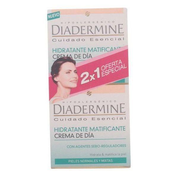 Diadermine Creme de Dia Hidratante Matificante 2x50ml Coffret
