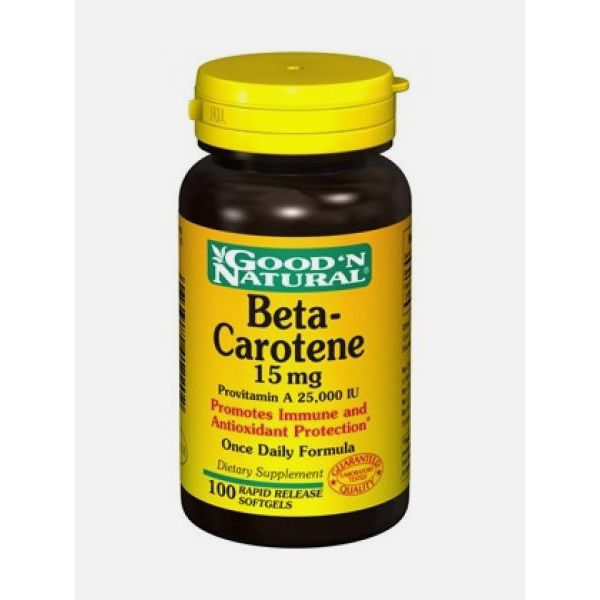 Good 'N Natural Beta-Carotene 15mg 100 cápsulas