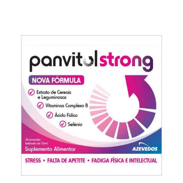 Panvitol Strong 10ml 20 Ampolas