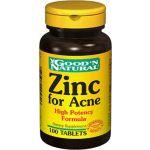 Good 'N Natural Zinc for Acne 100 comprimidos