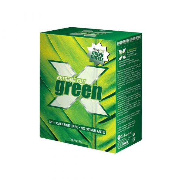 Gold Nutrition Extreme Cut Green 100 cápsulas