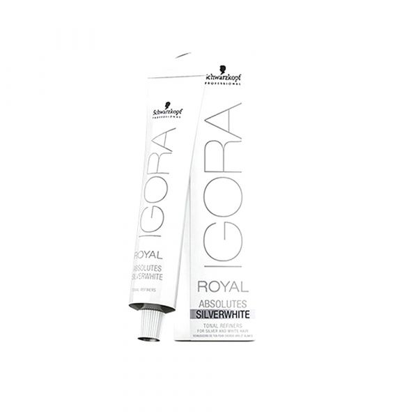 636927398d Schwarzkopf Igora Royal Absolutes Coloração Tom Silver White Slate Grey 60ml