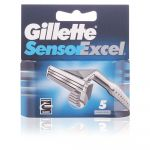 Gillette Lâminas Sensor Excel 5 unidades
