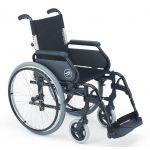 Sunrise Cadeira de Rodas Alumínio Encosto Partido Breezy 300P