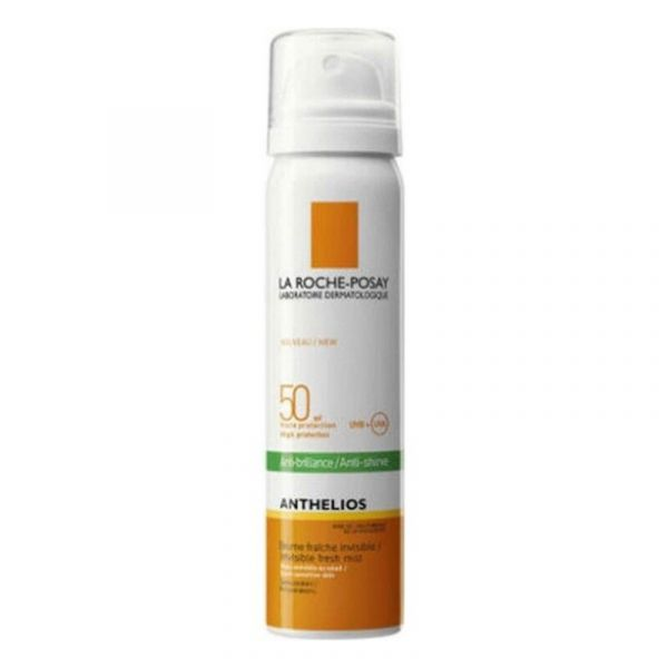 Protetor Solar La Roche-Posay Anthelios Bruma Facial Invisível Antibrilhos SPF50+ 75ml