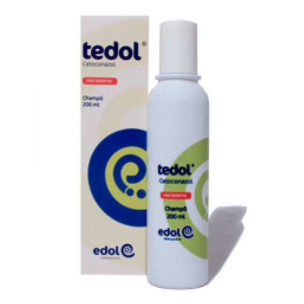 Edol Tedol Shampoo 20mg/g 120ml