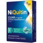 Niquitin Clear 21mg/24h 14 Sistemas Transdérmicos