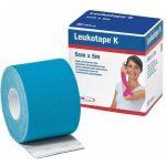 Leukotape K Ligadura Elástica Adesiva 5cmx5m Azul Claro