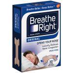 Breathe Right Penso Nasal Pequeno/Médio 30 unidades
