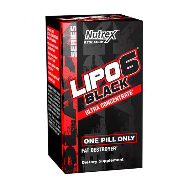 Nutrex Lipo 6 Black Ultra Concentrate 60 Cápsulas