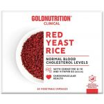 Gold Nutrition Red Yeast Rice c/ Coenzima Q-10 60 cápsulas