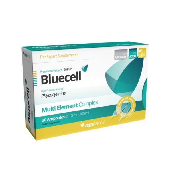 Vegafarma Super Bluecell 30 ampolas